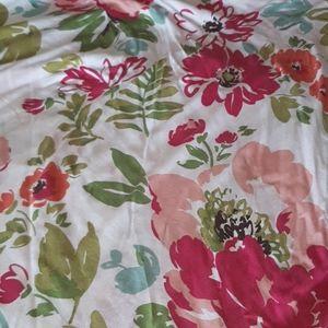 Cynthia Rowley cotton duvet cover and pillowcase